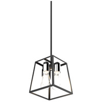 DVI DVP29048MF/EB Cape Breton 4 Light 11 inch Ebony Pendant Ceiling Light