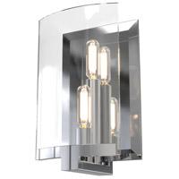 DVI DVP29601CH-CL Pickford 2 Light 5 inch Chrome ADA Sconce Wall Light