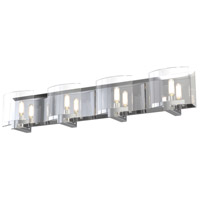 DVI DVP29644CH-CL Pickford 4 Light 31 inch Chrome Vanity Wall Light