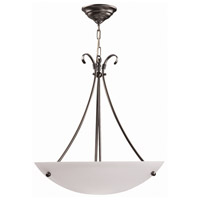 DVI DVP3205SN Georgian 3 Light 16 inch Satin Nickel Pendant Ceiling Light
