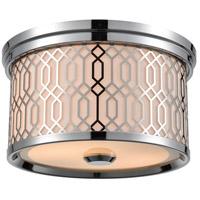 DVI DVP33932CH-SW Torino 2 Light Chrome Flush Mount Ceiling Light