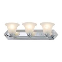 DVI DVP42403SN Diamond 3 Light 24 inch Satin Nickel Vanity Light Wall Light