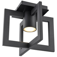 DVI DVP42774BK Astrid Outdoor 1 Light 10 inch Black Outdoor Flush Mount