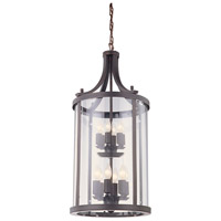 Niagara 12 Light 20 inch Oil Rubbed Bronze Pendant Ceiling Light