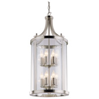 Niagara 12 Light 20 inch Satin Nickel Pendant Ceiling Light
