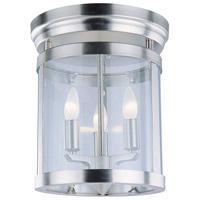 DVI DVP4432CH Niagara 3 Light 12 inch Chrome Flush Mount Ceiling Light