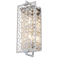 DVI DVP5863CH-CRY Eclipse 2 Light 6 inch Chrome ADA Wall Sconce Wall Light