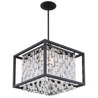 Amethyst 4 Light 16 inch Graphite Pendant Ceiling Light