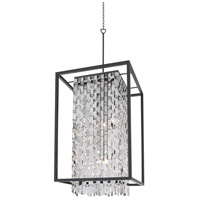 Amethyst 9 Light 22 inch Graphite Foyer Pendant Ceiling Light
