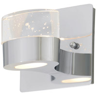 Neptune 1 Light 5 inch Chrome ADA Wall Sconce Wall Light