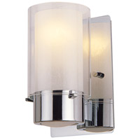 Essex 1 Light 8 inch Chrome Wall Sconce Wall Light in Opal Glass