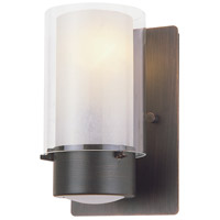Essex 1 Light 8 inch Oil Rubbed Bronze Wall Sconce Wall Light in Opal Glass