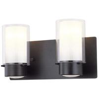 DVI DVP9022ORB-OP Essex 2 Light 14 inch Oil Rubbed Bronze Vanity Wall Light in Opal Glass