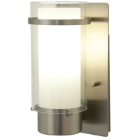 DVI DVP9062BN-OP Essex 1 Light 5 inch Buffed Nickel Wall Sconce Wall Light in Opal Glass