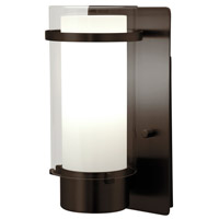 Essex 1 Light 5 inch Oil Rubbed Bronze Wall Sconce Wall Light in Opal Glass