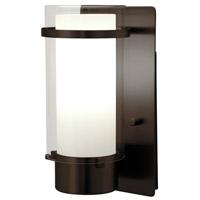 DVI DVP9062ORB-OP Essex 1 Light 5 inch Oil Rubbed Bronze Wall Sconce Wall Light in Opal Glass