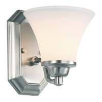Valletta 1 Light 6 inch Chrome Wall Sconce Wall Light