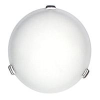 DVI Lighting Treviso 3 Light Flush Mount in Satin Nickel with Opal Glass DVP1042SN-OP