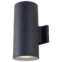 DVI Lighting Summerside 2 Light Outdoor Wall Sconce in Matte Black DVP115000BK
