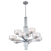 DVI Lighting Gatsby 9 Light Chandelier in Chrome with Clear Crystals DVP14129CH-CRY
