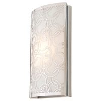 Woodstock 1 Light 7 inch Chrome Wall Sconce Wall Light