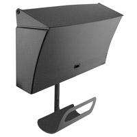 DVI Lighting Media Mailbox in Hammered Black DVP1506HB