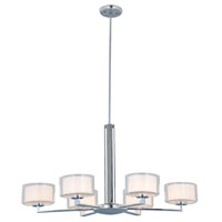 Princeton 6 Light 34 inch Chrome Chandelier Ceiling Light