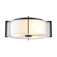 Princeton 2 Light 17 inch Graphite Flush Mount Ceiling Light