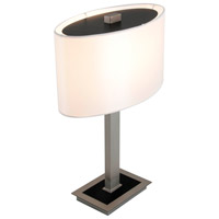 Esplanade 17 inch 100 watt Buffed Nickel Table Lamp Portable Light