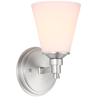 Georgetown 1 Light 5 inch Chrome Wall Sconce Wall Light