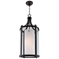 DVI Lighting Essex 2 Light Pendant in Graphite with Half Opal Glass DVP9011GR-OP