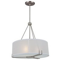Geometry 3 Light 18 inch Buffed Nickel Pendant Ceiling Light