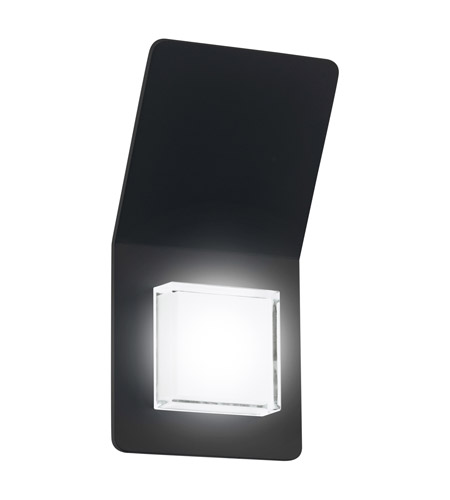 Eglo 200877A Pias LED 10 inch Black Outdoor Wall Light photo thumbnail