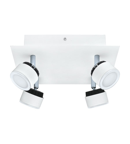 Eglo 200895A Armento 4 Light 120V White & Black Track Light Ceiling Light photo