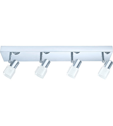 Eglo 200906A Nocera 4 Light 120V Chrome Track Light Ceiling Light photo