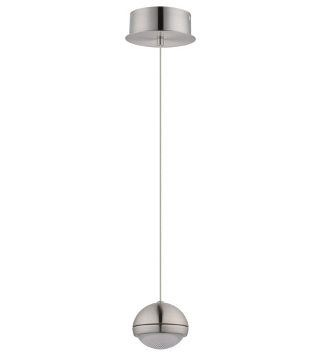 Eglo 201463A Lombes LED 5 inch Matte Nickel Mini Pendant Ceiling Light photo