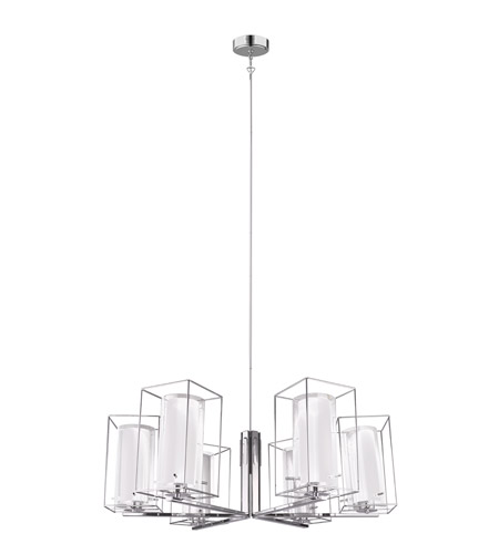 Eglo 201511A Loncino I 6 Light 33 inch Chrome Chandelier Ceiling Light photo