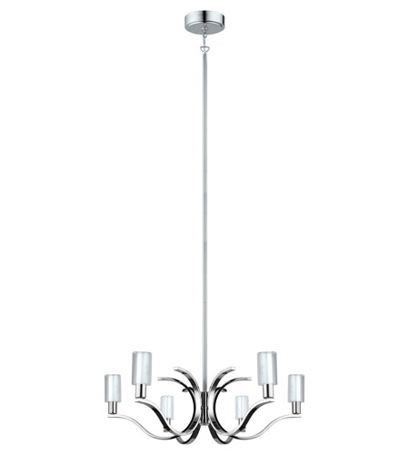 Eglo 201512A Varella LED 29 inch Chrome Chandelier Ceiling Light photo