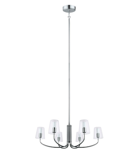 Eglo 201514A Noventa LED 29 inch Chrome Chandelier Ceiling Light photo