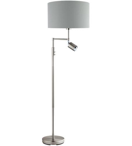 Eglo 201828a santander 60 inch 60 watt matte nickel floor lamp eglo 201828a santander 60 inch 60 watt matte nickel floor lamp portable light aloadofball Gallery