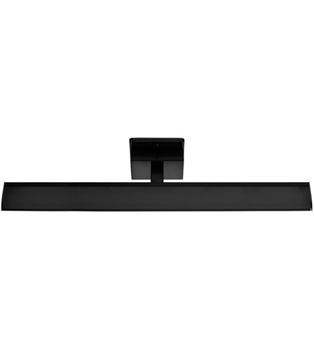 Eglo 202075a tabiano led 24 inch matte black bath vanity wall light