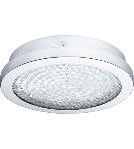 Eglo 202509A Arezzo 2 LED 11 inch Chrome Flush Mount Ceiling Light photo