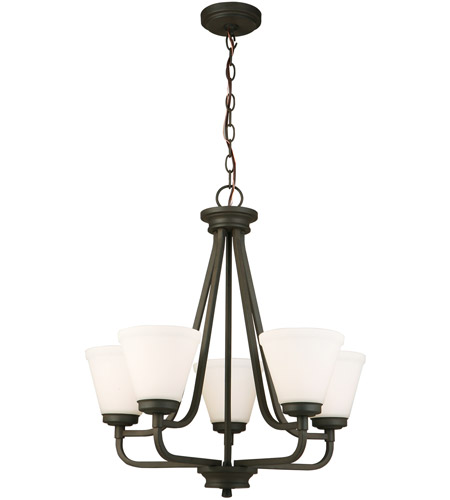Eglo 202786A Mayview 5 Light 23 inch Matte Bronze Chandelier Ceiling Light photo