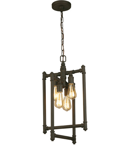 Eglo 202836A Wymer 4 Light 13 inch Matte Bronze Foyer Pendant Ceiling Light photo