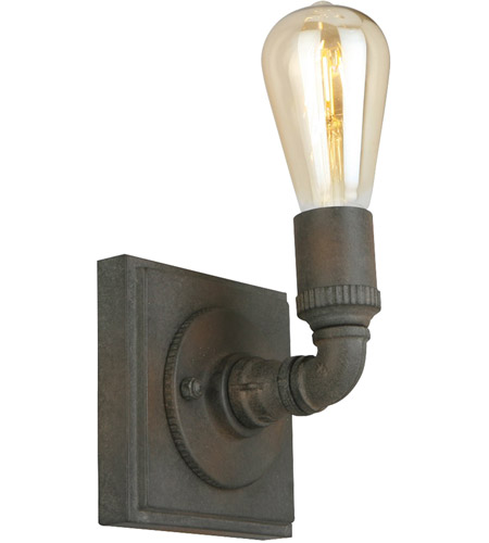 Eglo 202853A Wymer 1 Light 5 inch Zinc Wall Sconce Wall Light photo