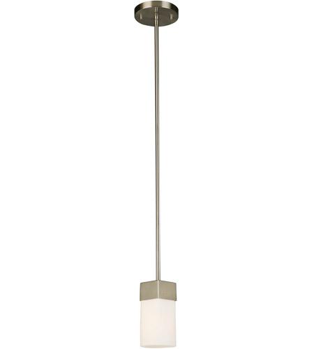 Eglo 202866a Ciara Springs 1 Light 5 Inch Brushed Nickel Mini