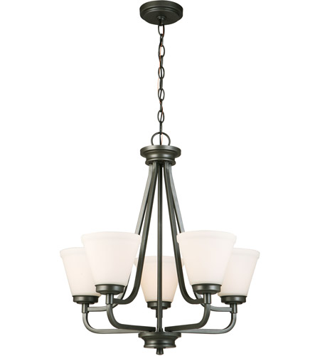 Eglo 202901A Mayview 5 Light 23 inch Graphite Chandelier Ceiling Light photo