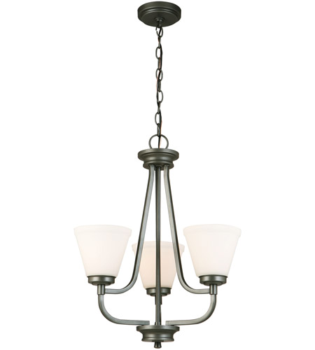 Eglo 202903A Mayview 3 Light 19 inch Graphite Chandelier Ceiling Light photo