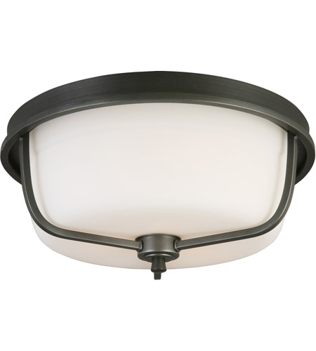 Eglo 202907A Mayview 3 Light 16 inch Graphite Flush Mount Ceiling Light photo