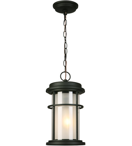 Eglo 203028A Helendale 1 Light 8 inch Matte Black Outdoor Pendant photo
